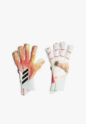 PREDATOR 20 PRO FINGERSAVE GOALKEEPER GLOVES - Goalkeeping gloves - white