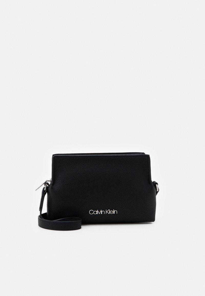 Calvin Klein - CROSSBODY - Across body bag - black