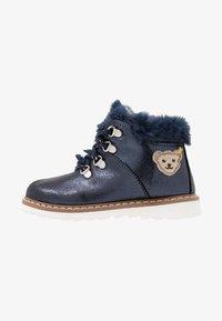 Steiff Shoes - HOLLIEE - Nauhalliset nilkkurit - blue - 1