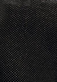 Never Fully Dressed - GLITTER DYNASTY TROUSER - Kalhoty - black - 5