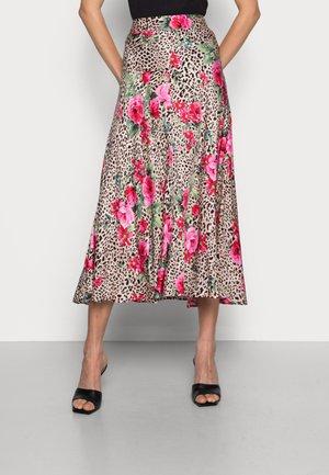 SKIRT SEAMS TIGER ROSE - A-line skirt - multi-coloured