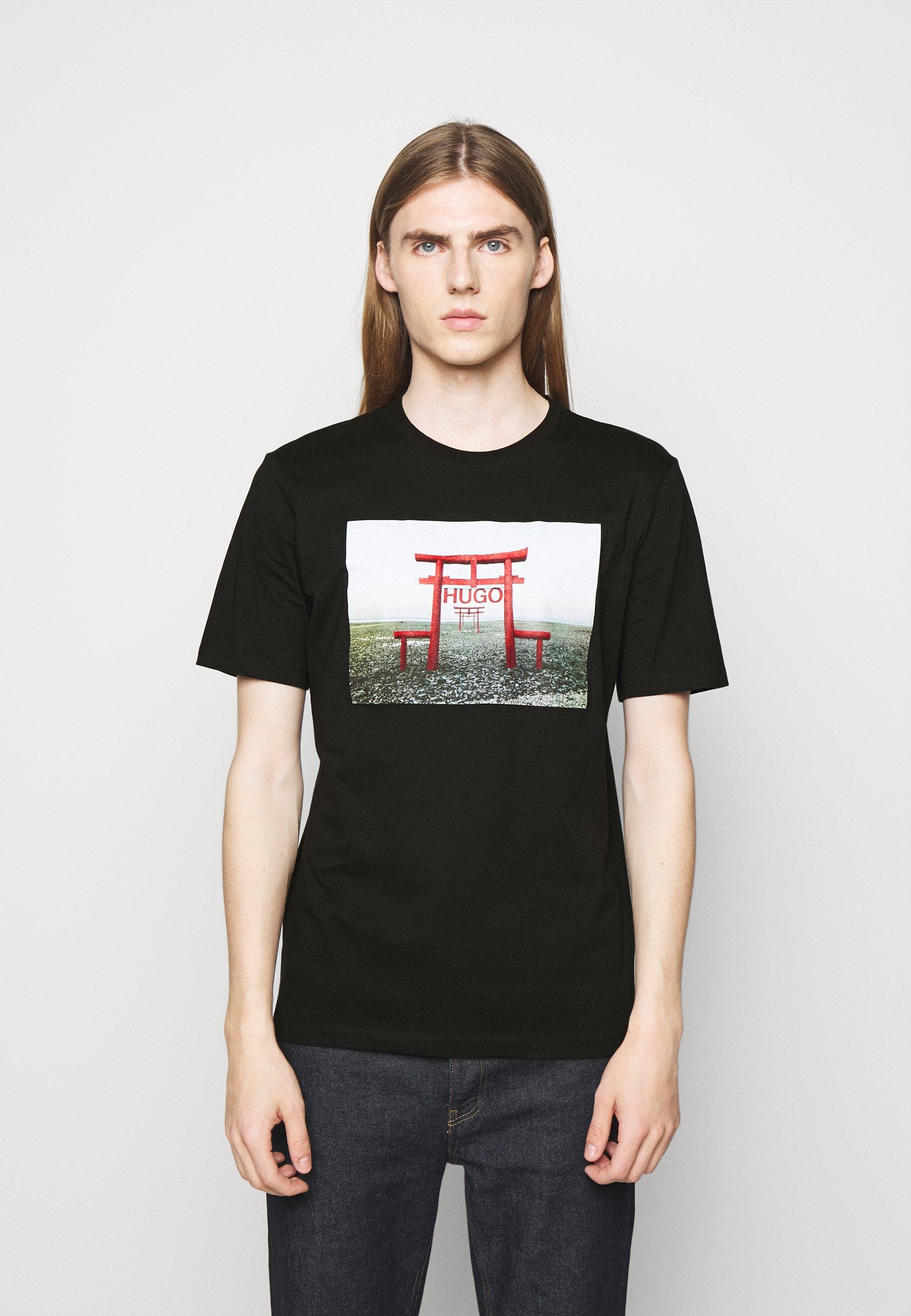 Men DICHIBAN  - Print T-shirt