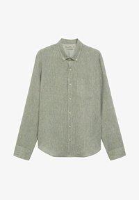 SLIM FIT - Shirt - khaki