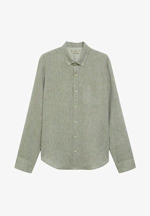 SLIM FIT - Shirt - khaki