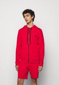 HUGO - DAPLE - Zip-up sweatshirt - open pink - 0