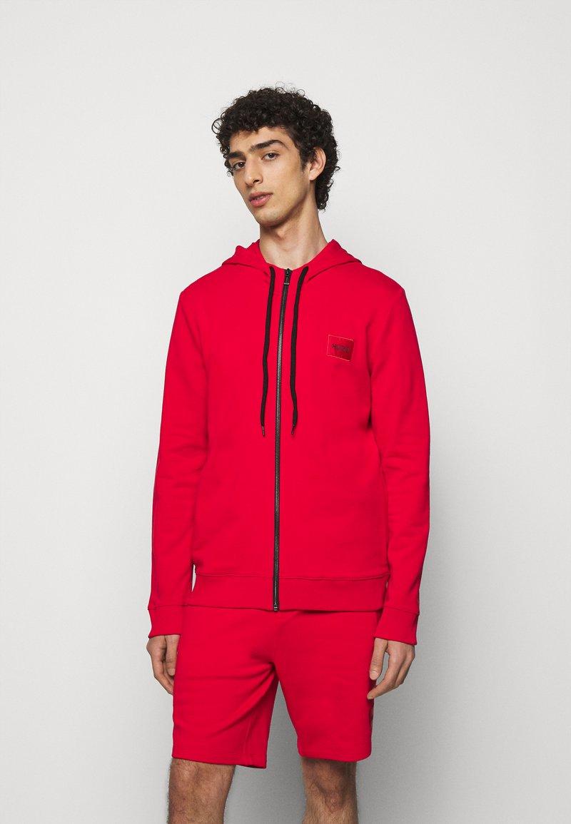 HUGO - DAPLE - Zip-up sweatshirt - open pink
