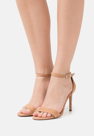 JADELLE - High heeled sandals - tan