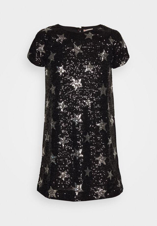 GINNY DRESS PRINTED - Vestito elegante - silver/black