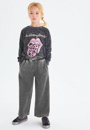 FLIPPY SEQUIN ANIMAL ROLLING STONES - Sweatshirt - grey