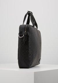 Calvin Klein - INDUSTRIAL MONO SLIM LAPTOP BAG - Aktovka - black - 3