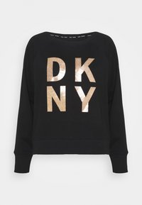DKNY - STACKED LOGO  - Sweatshirt - black - 3