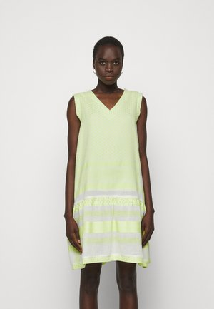 DRESS - Day dress - avocado green