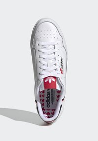 adidas Originals - CONTINENTAL 80 - Trainers - footwear white/core black/scarlet - 1