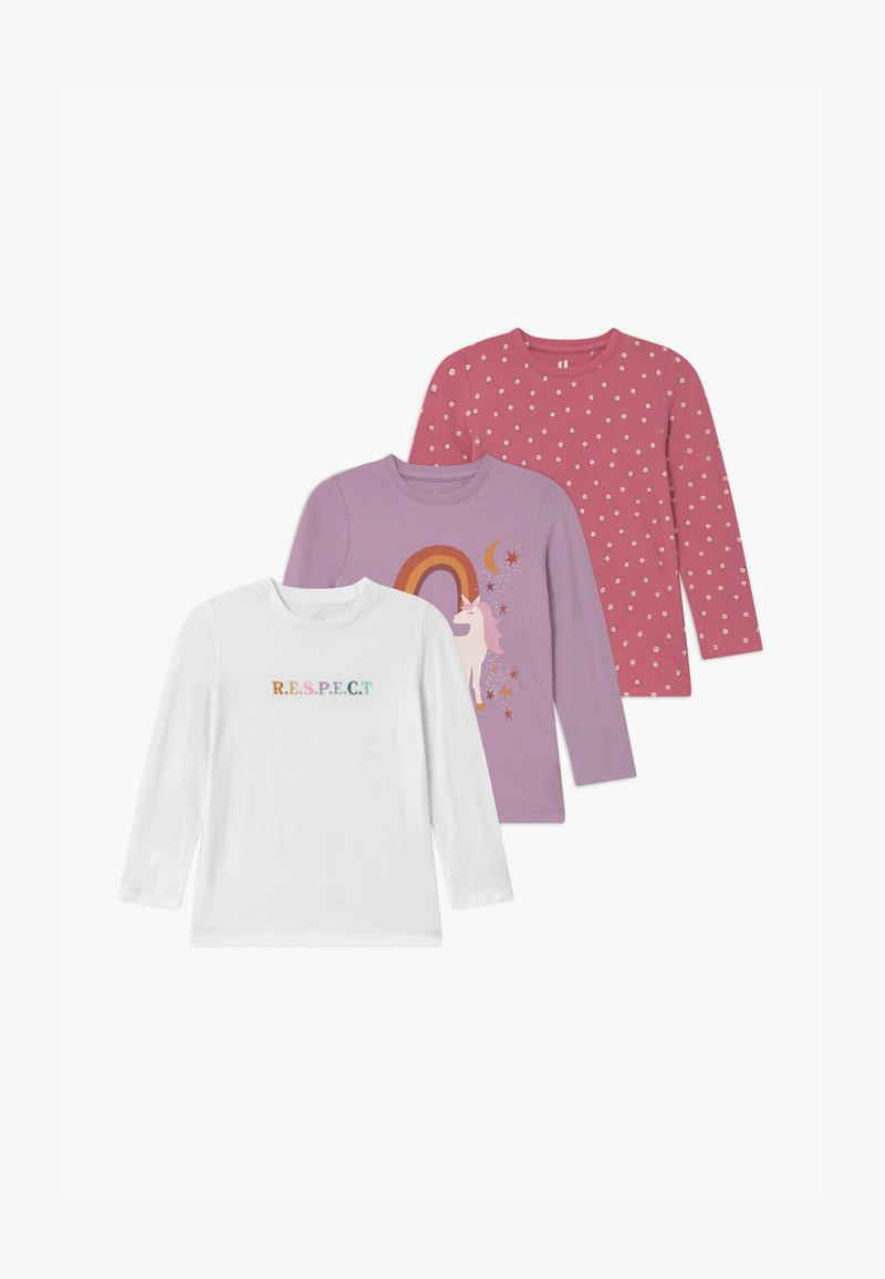 Cotton On - PENELOPE LONG SLEEVE 3 PACK - Longsleeve - multi-coloured