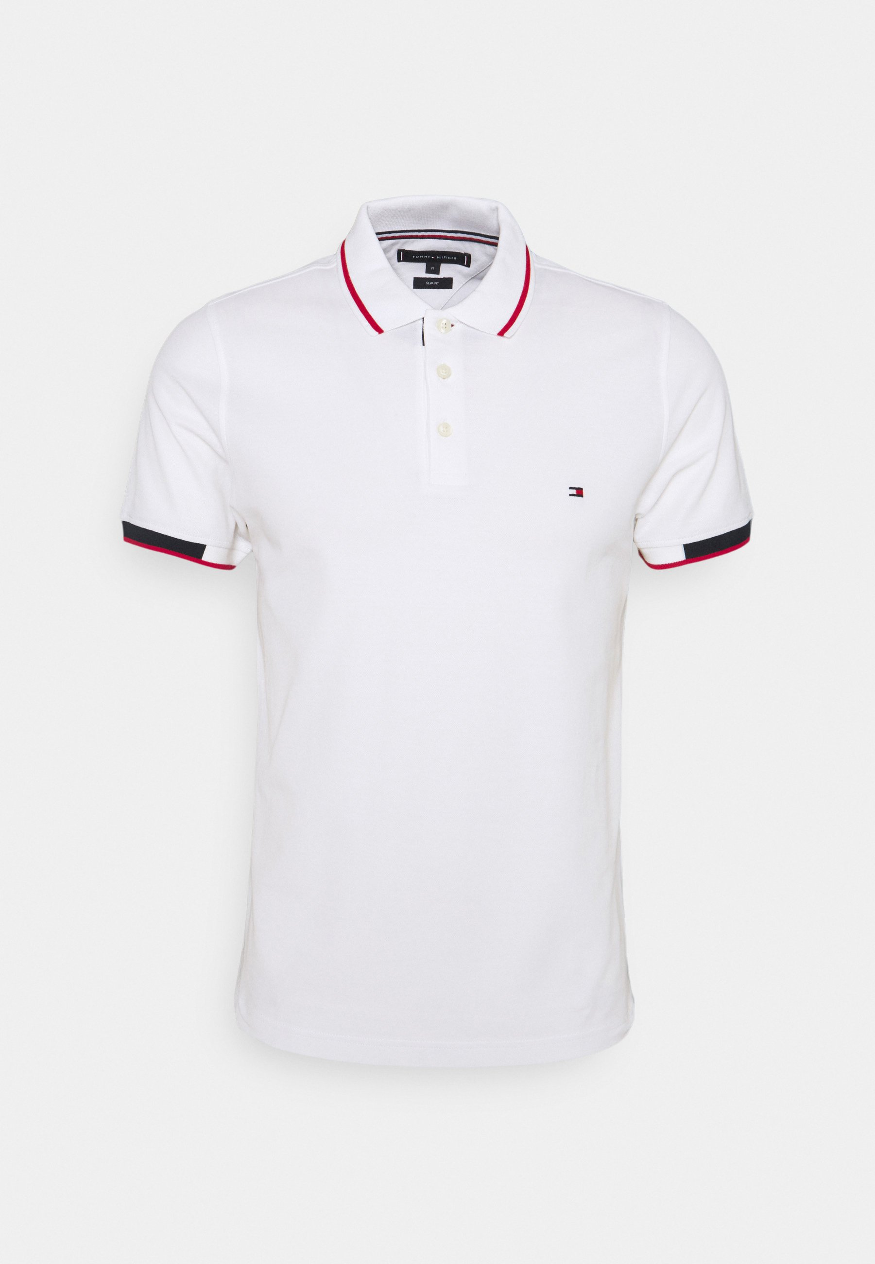 Homme PLACKET DETAIL SLIM FIT - Polo
