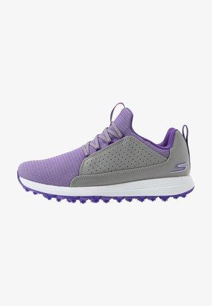MAX MOJO - Golfové boty - gray/purple