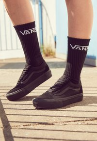 Vans - UA OLD SKOOL PLATFORM - Trainers - black - 4