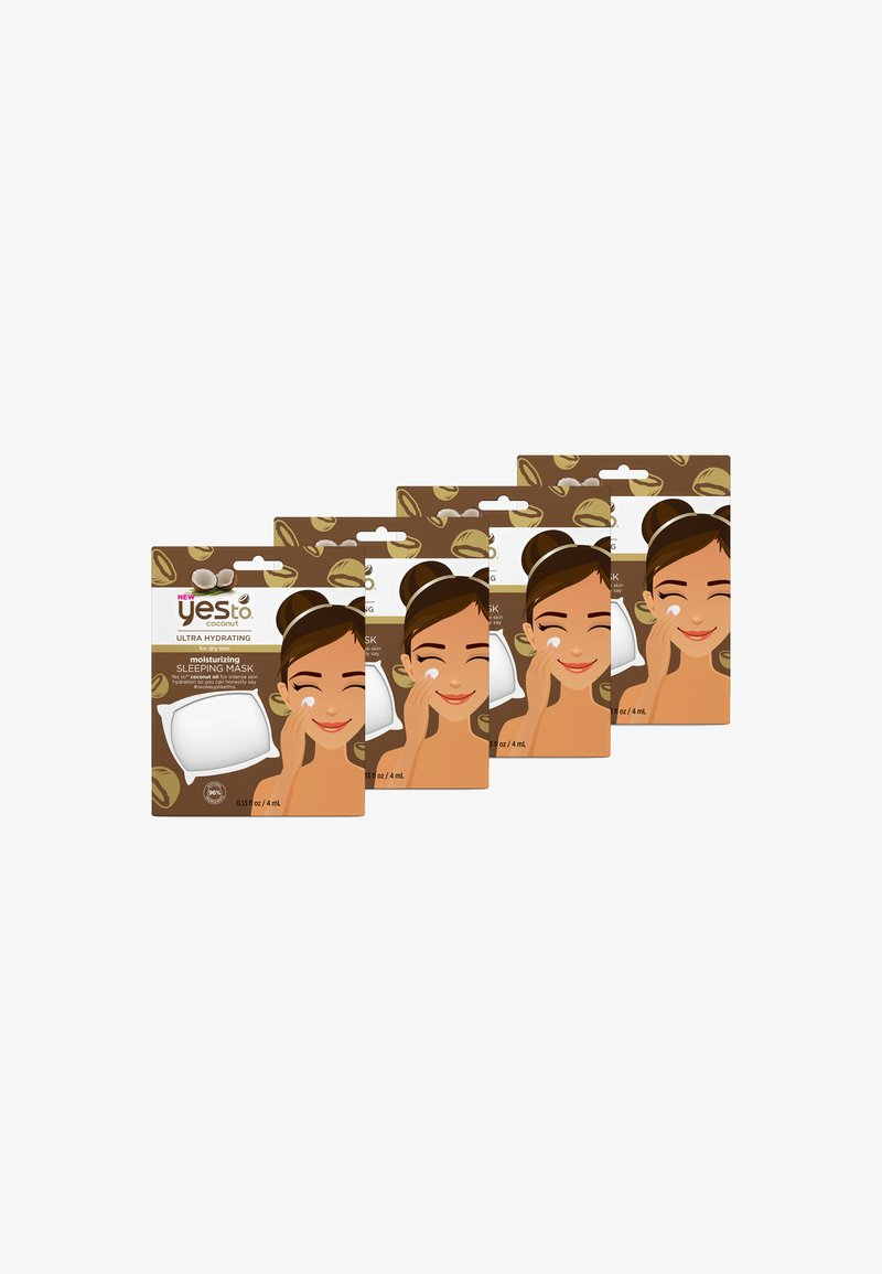 Yes To - 4 PACK - Face mask - -