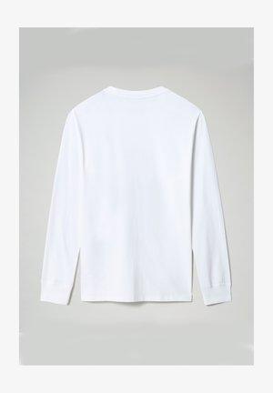 Långärmad tröja - bright white