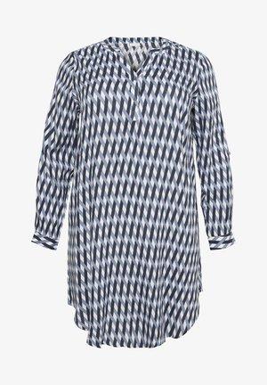 MILANA - Shirt dress - flintstone / chalk braid print