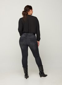 Zizzi - Slim fit jeans - grey - 1