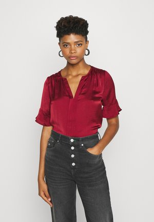 ONLEVER DETAIL - Blouse - pomegranate
