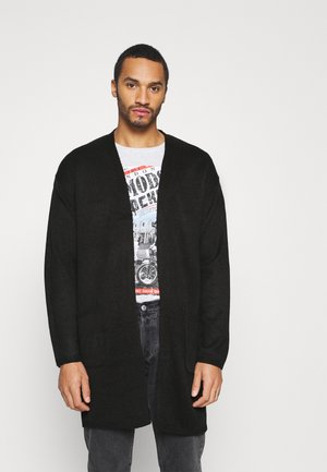 FIELDC - Cardigan - jet black