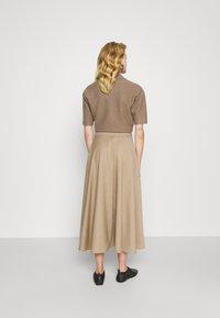 WEEKEND MaxMara - CABLO - A-line skirt - camel - 2