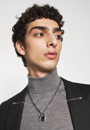 EXCLUSIVE PADLOCK NECKLACE UNISEX - Necklace - silver-coloured