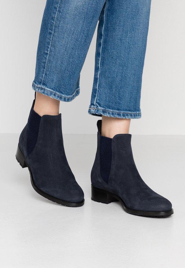Ankle boots - piuma blu