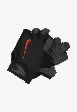 ULTIMATE FITNESS GLOVES - Rukavice - black/light crimson