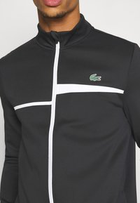 Lacoste Sport - TENNIS JACKET - Trainingsvest - black/white - 5