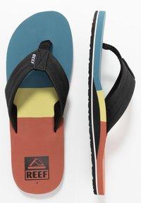 Reef - TRI WATERS - Sandály s odděleným palcem - aqua/blue - 1