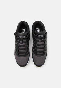 K-SWISS - VISTA - Trainers - black/charcoal - 3