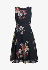Esprit Collection Petite - FLUENT GEORGE DRESSES MIDI - Day dress - navy - 6