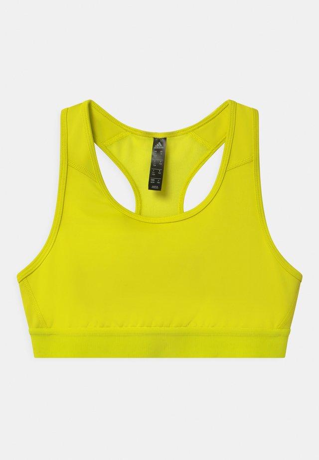 Reggiseno sportivo - neon yellow
