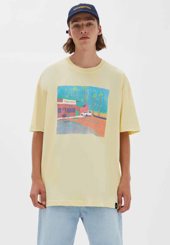 Herren MIT PARKPLATZ-MOTIV - T-Shirt print