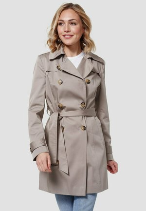 Trenchcoat - hell taupe