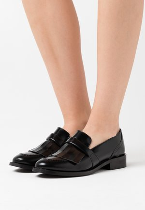 BRINA VEGAN - Slippers - black