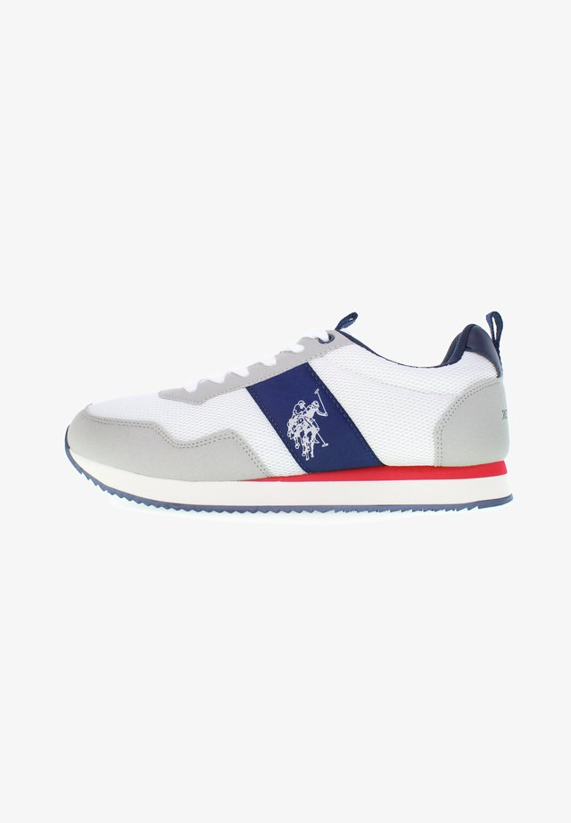 EXTE - Trainers - off white-blue