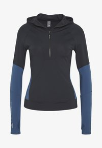 adidas by Stella McCartney - HOODED - Treningsskjorter - black/blue - 4