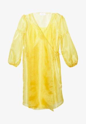 ROCKET DRESS - Denní šaty - yellow