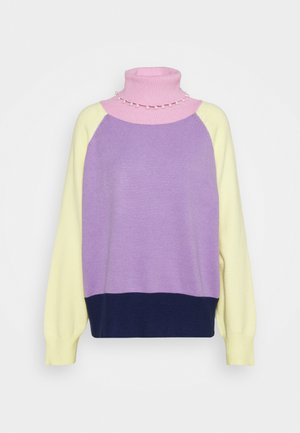 CLEMMIE TURTLE NECK - Maglione - multi-coloured