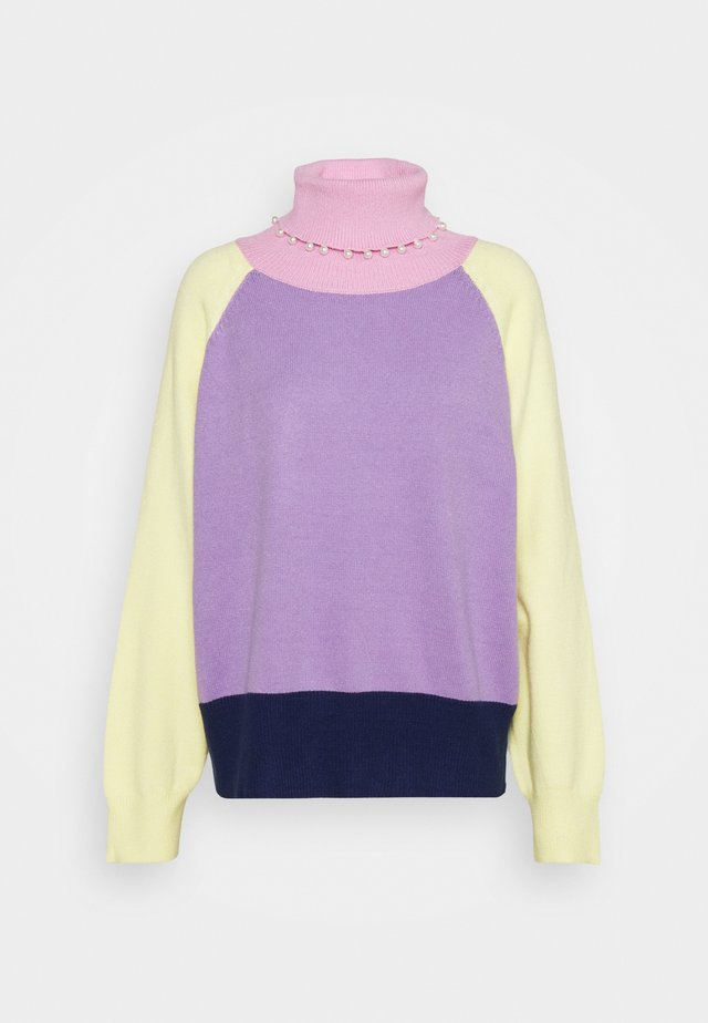 CLEMMIE TURTLE NECK - Trui - multi-coloured