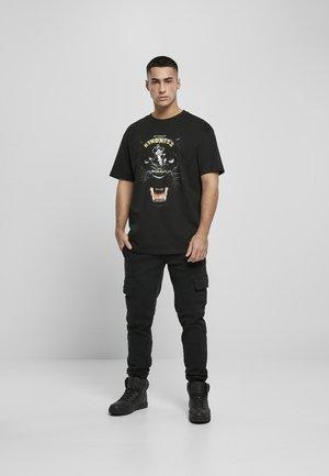 T-shirt print - black
