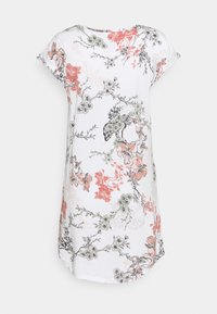 Lindex - NIGHT DRESS BIG T AMANDA - Nightie - off white - 1