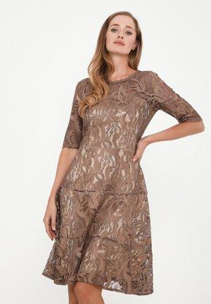 SAPALERI - Cocktail dress / Party dress - marron