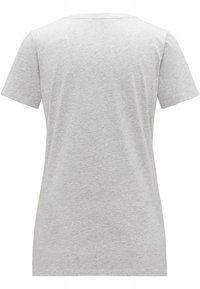 Haglöfs - MIRTH TEE - Print T-shirt - grey melange/purple milk - 5