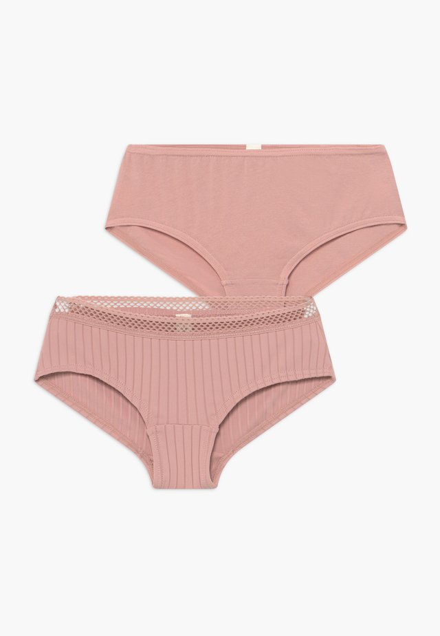 BETSIE HIPSTER 2 PACK - Boxerky - old pink