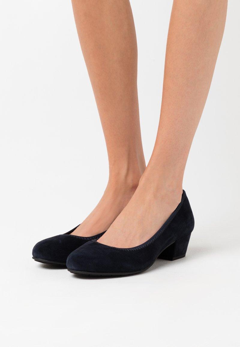 Jana - COURT SHOE - Classic heels - navy